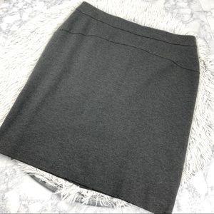 Michael Kors Heather Charcoal Pencil Skirt EUC